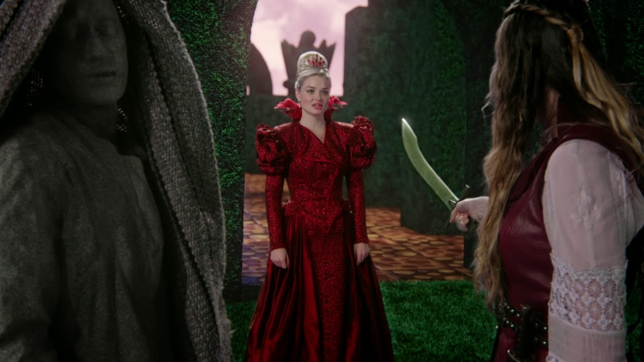 Once Upon a Time Wonderland Red Queen Wonderland The Red Queen