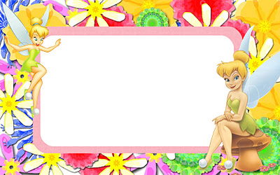 disney wallpaper called tinkerbell name tag
