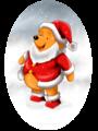 winnie the pooh as santa