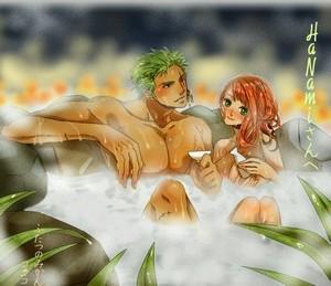 zoro nami One Piece