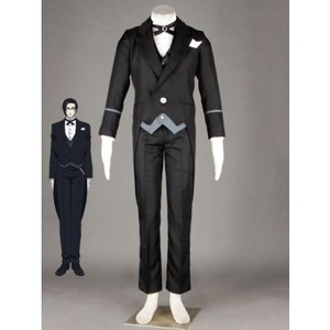 Black Butler claude faustus cosplay costume