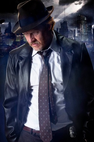 Gotham wallpaper possibly containing a business suit entitled  Detective Harvey Bullock