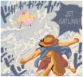 *Doflamingo v/s Luffy* - one-piece photo