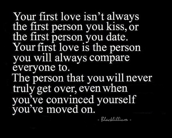 Quotes About 1st Love : Pics Photos - How First Love Ended Funny Pictures Quotes Via