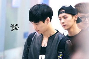 [HQ] 140501 Lay @ Incheon Airport