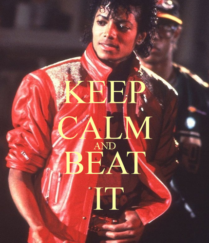 Michael Jackson wallpaper entitled ♪♫ Keep Calm and Beat It ♫♪
