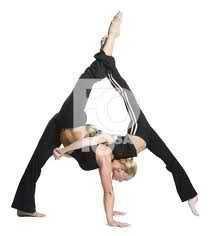 (Kinda sorta) contortionist duet