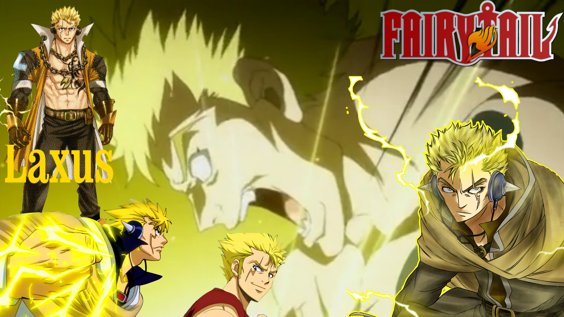 *Laxus Dreyar* - Fairy Tail Photo (37006221) - Fanpop