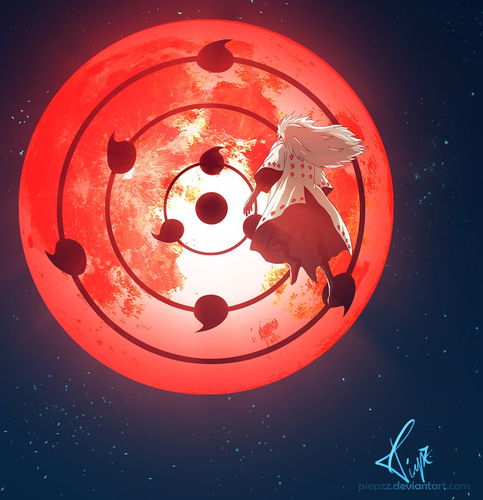 Madara Uchiha wallpaper titled *Madara Acivate the Infinite Tsukuyomi*