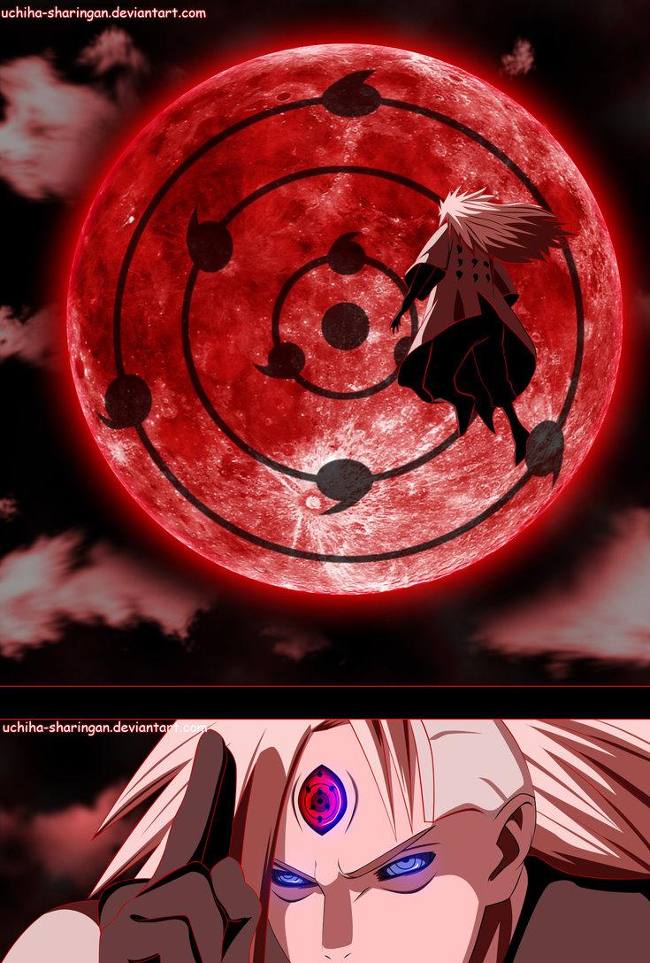 *Madara Acivate the Infinite Tsukuyomi*