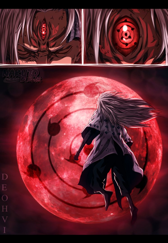 Madara Uchiha wallpaper titled *Madara Awakening Third Eye*