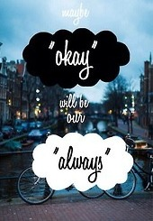 The Fault In Our Stars Fondo De Pantalla Probably With A Street, A Sign,.  Okay.