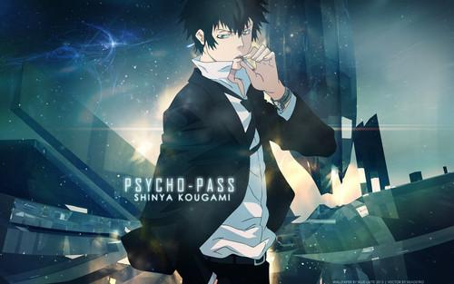 ऐनीमे के लड़के वॉलपेपर possibly containing a संगीत कार्यक्रम entitled √Psycho-Pass.Guys.ϟ