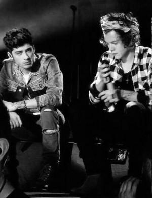 Zayn and Harry