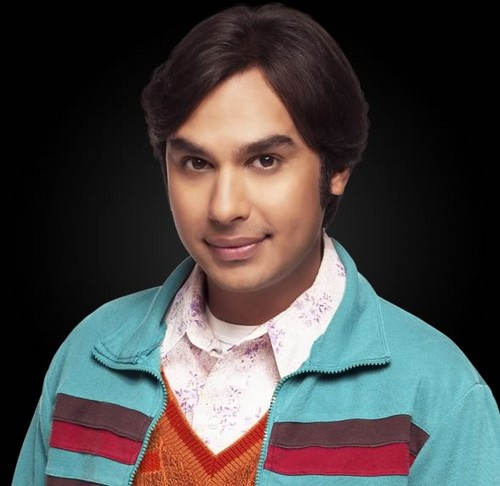 生活大爆炸 壁纸 probably with a blouse, a pullover, and an outerwear called tbbt-Raj Koothrappali