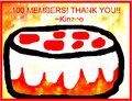 100 Fans!