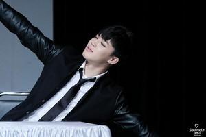 140309 Jimin @ Shinchon Fansign