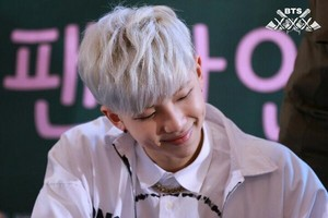 140411 Rap Monster @ Yeouido Fansign