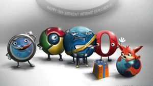 15th Birthday For IE