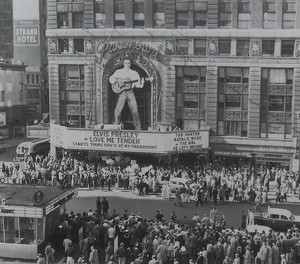"1956 Movie Premiere Of ""Love Me Tender"""