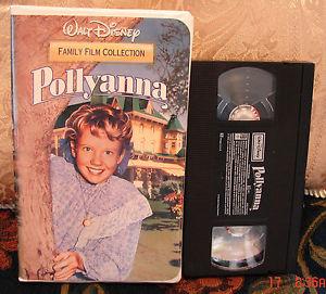 "1960 Disney Film, ""Pollyanna"", One trang chủ máy chiếu phim, videocassette"