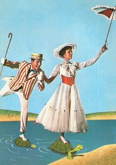 "1964 Disney Film, ""Mary Poppins"""