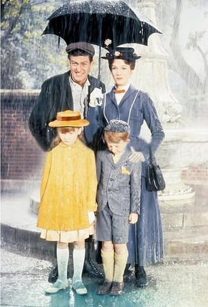 "1964 디즈니 Film, ""Mary Poppins"""