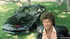 "1980's televisão Series, ""Knight Rider"""
