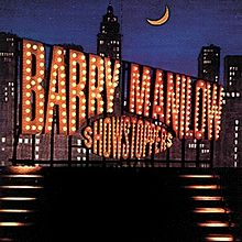 "The 90s wallpaper with a business district called 1991 Barry Manilow Arista Release, ""Showstoppers"""