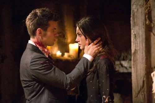 Elijah & Hayley پیپر وال containing a candle entitled 1x22 Elijah and Hayley