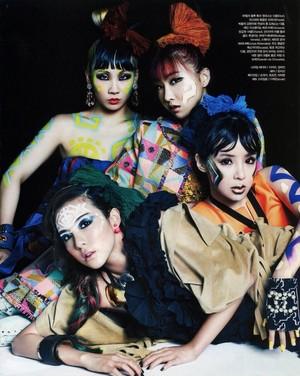 2ne1 for Vogue Korea