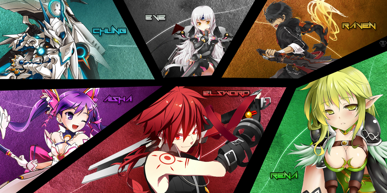 Elsword 6 warriors hd and background 37077975 elsword containing called 6 warriors voltagebd Image collections