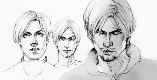 Leon Kennedy 바탕화면 probably containing a portrait entitled A Letter to My Future Self