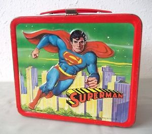A Vintage Superman Lunch Box