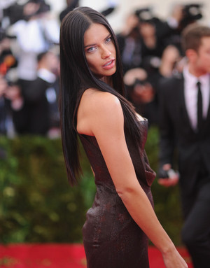 Adriana Lima for MET gala