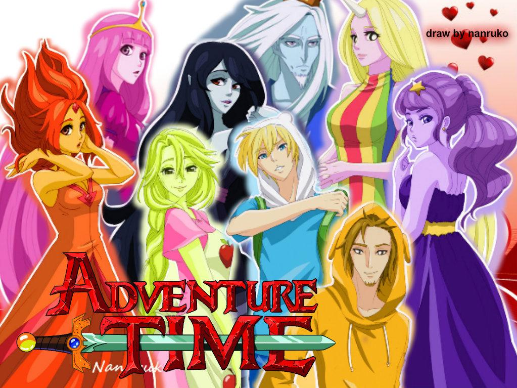 Hora De Aventura Version Anime