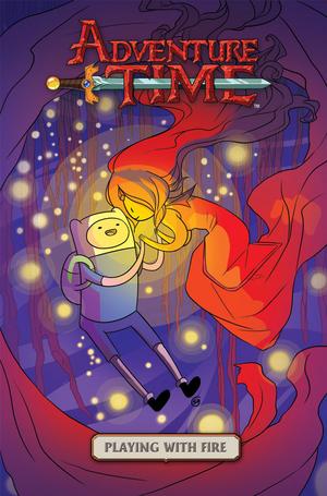 Adventure Time playing w/ ngọn lửa, chữa cháy
