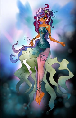 Winx Club Stella Sirenix 3d