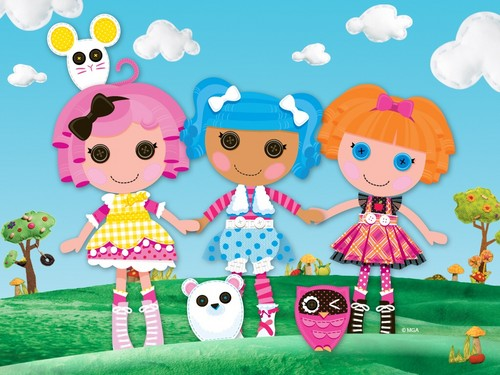 Lalaloopsy wallpaper called Alayna 1st birthday party!