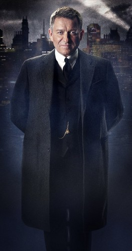 Gotham wallpaper possibly with a well dressed person and a business suit called Alfred Pennyworth