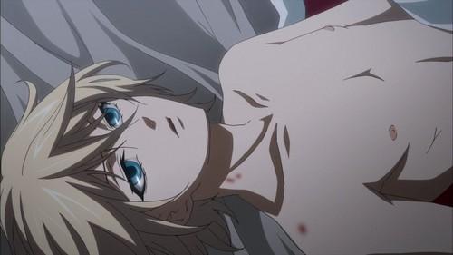 Ravissa <3 karatasi la kupamba ukuta possibly with anime entitled Alois Trancy