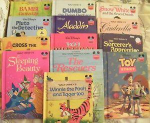 An Assortment Of Disney Storybooks