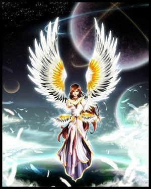 天使 日本动漫 girl