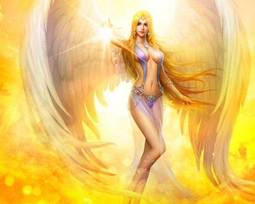 Fantasy wallpaper entitled Angel