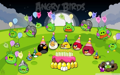 angry birds wallpaper titled AngryBirds2