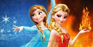 Anna of Ice and Elsa of 火, 消防