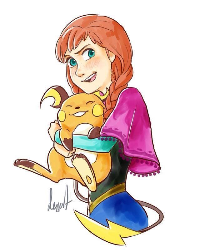 Anna's Pokemon