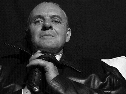 Sir Anthony Hopkins wallpaper possibly containing a business suit titled Anthony Hopkins