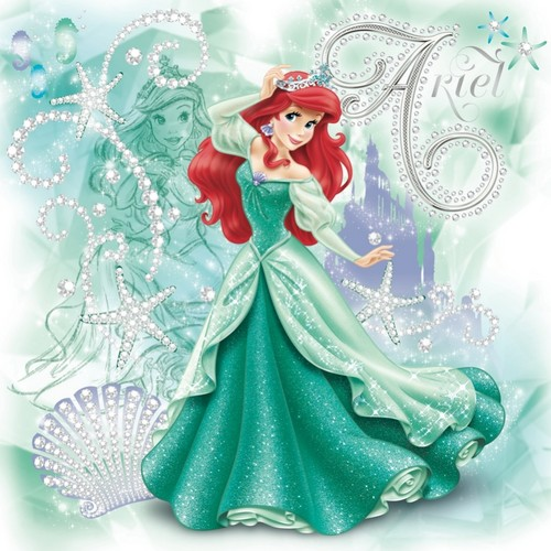 Disney Princess wolpeyper titled Ariel