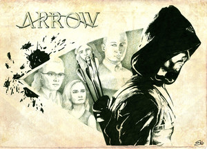 Arrow Sketches (Artbook fanwork)
